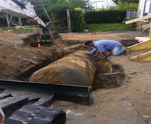 D gazage en normandie assainissement en manche calvados - Cuve a fioul enterree ...